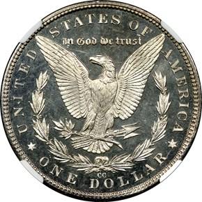 1884 CC $1 PF reverse