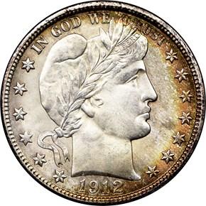 1912 50C MS obverse