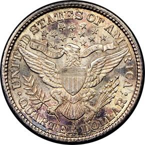 1892 S 25C MS reverse