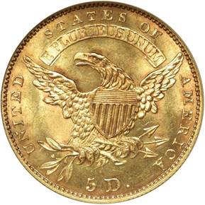 1830 $5 MS reverse