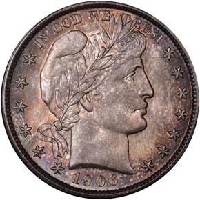 1906 O 50C MS obverse
