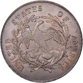 1795 DRAPED BUST S$1 MS reverse