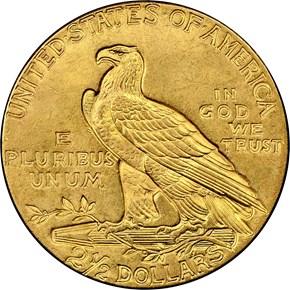 1926 $2.5 MS reverse