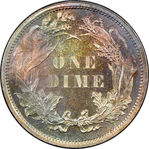 1860 10C PF reverse