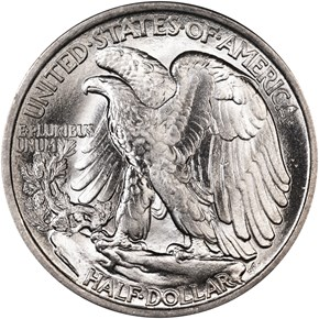 1916 50C MS reverse