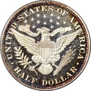 1892 50C PF reverse