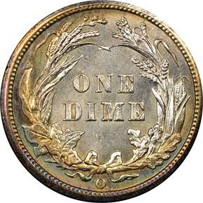 1905 O 10C MS reverse