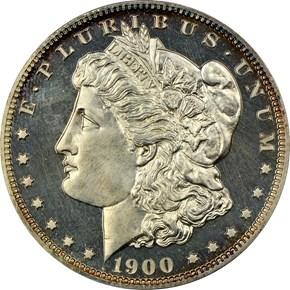 1900 $1 PF obverse