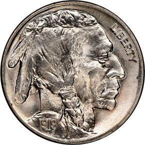 1919 5C MS obverse