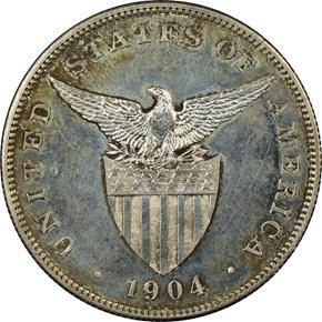1904 USA-PHIL PESO PF reverse