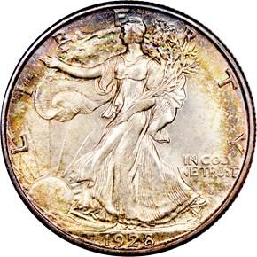 1928 S 50C MS obverse