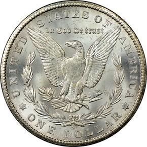 1902 S $1 MS reverse