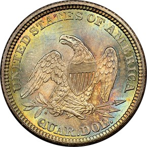 1861 25C MS reverse