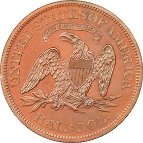 1862 J-294 50C PF reverse