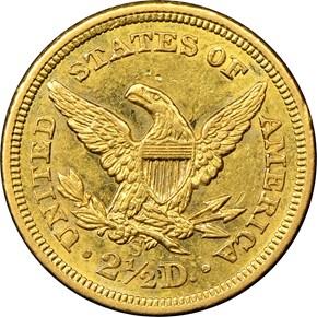 1857 S $2.5 MS reverse
