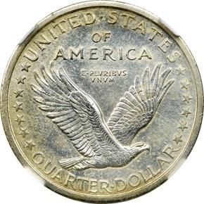 1916 STANDING 25C MS reverse