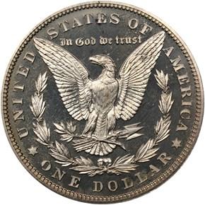 1901 $1 PF reverse