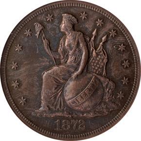 1872 J-1212 T$1 PF obverse