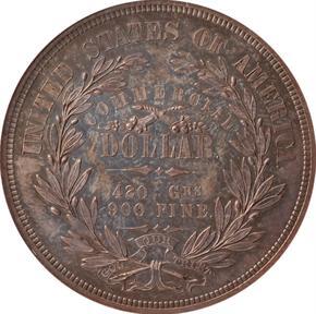1872 J-1212 T$1 PF reverse