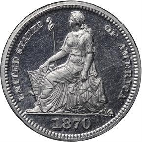 1870 J-814 H10C PF obverse
