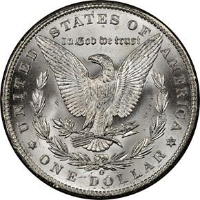 1898 O S$1 MS reverse