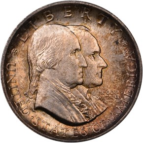 1926 AMERICAN SESQUICENTENNIAL 50C MS obverse