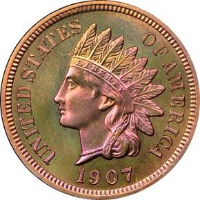 1907 1C PF obverse