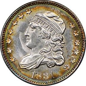 1831 H10C MS obverse
