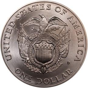 1994 D U.S. CAPITOL BICENTENNIAL S$1 MS reverse