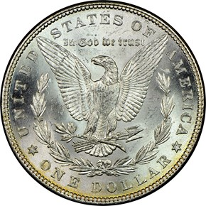 1878 7TF REV OF 79 S$1 MS reverse