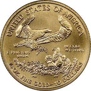 2015 EAGLE G$10 MS reverse