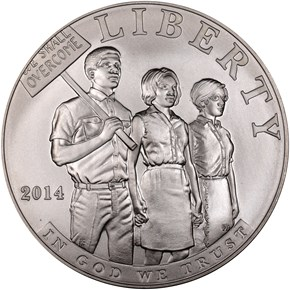 2014 P CIVIL RIGHTS ACT OF 196 obverse