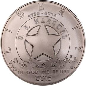 2015 P U.S. MARSHALS SERVICE S$1 MS obverse