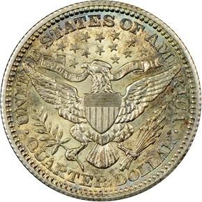 1909 25C MS reverse