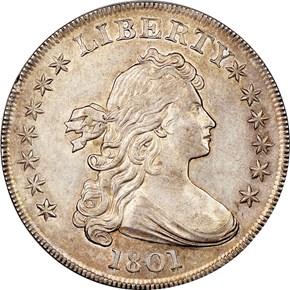 1801 $1 MS obverse