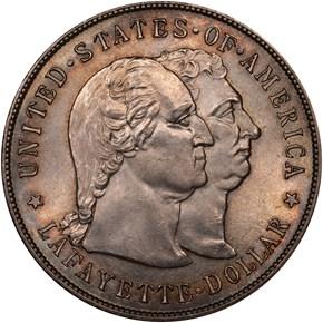 1900 LAFAYETTE S$1 MS obverse