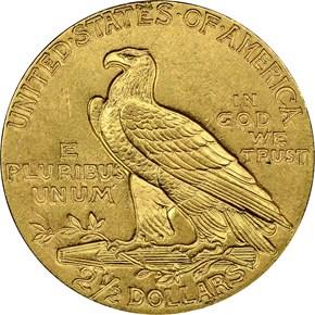 1913 $2.5 MS reverse
