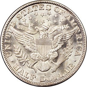 1915 S 50C MS reverse