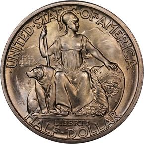 1935 S SAN DIEGO 50C MS obverse