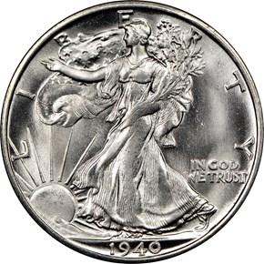1940 S 50C MS obverse
