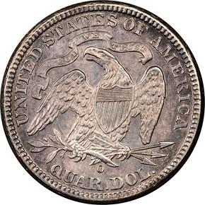 1891 O 25C MS reverse