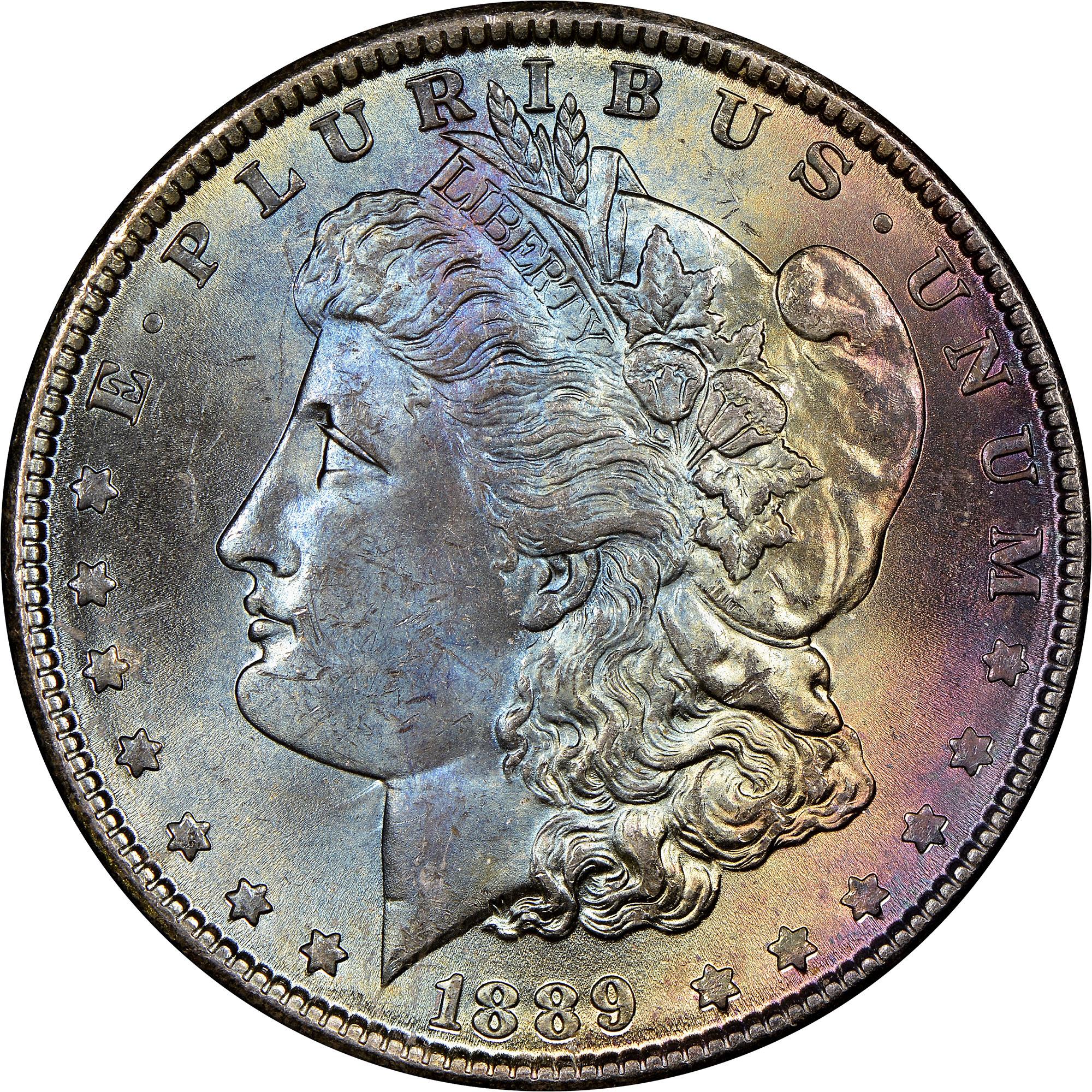 1889 $1 MS Morgan Dollars