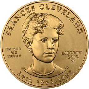 2012 W FRANCES CLEVELAND TERM 2 G$10 MS obverse
