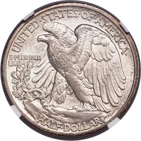 1916 S 50C MS reverse