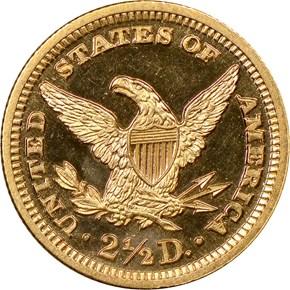 1906 $2.5 PF reverse