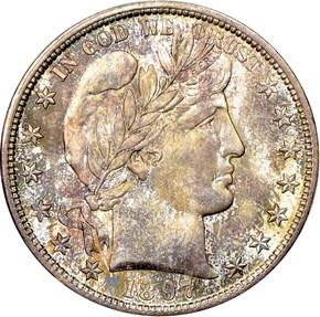 1897 S 50C MS obverse