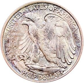 1919 50C MS reverse
