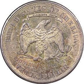 1878 CC T$1 MS reverse