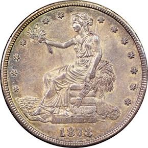 1878 CC T$1 MS obverse
