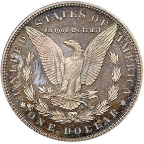 1895 S$1 PF reverse
